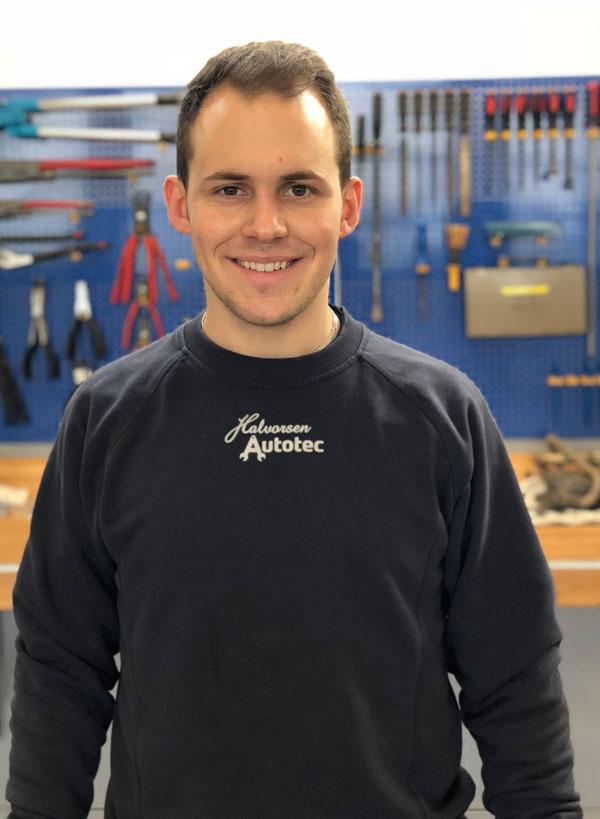Mike Hansen, mekaniker, Halvorsen Autotec i Vissenbjerg